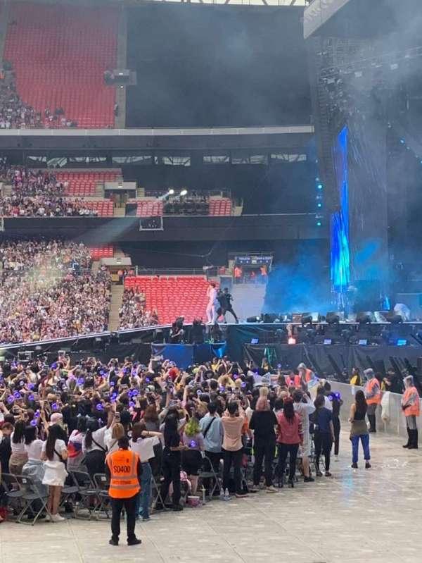 Wembley Stadium, secção: 119, fila: 2, lugar: 227