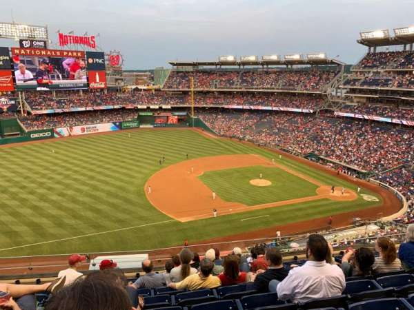 Nationals Park, secção: 306, fila: J, lugar: 13