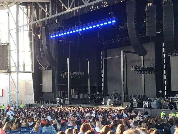 Budweiser Stage, secção: 30q, fila: A, lugar: 25