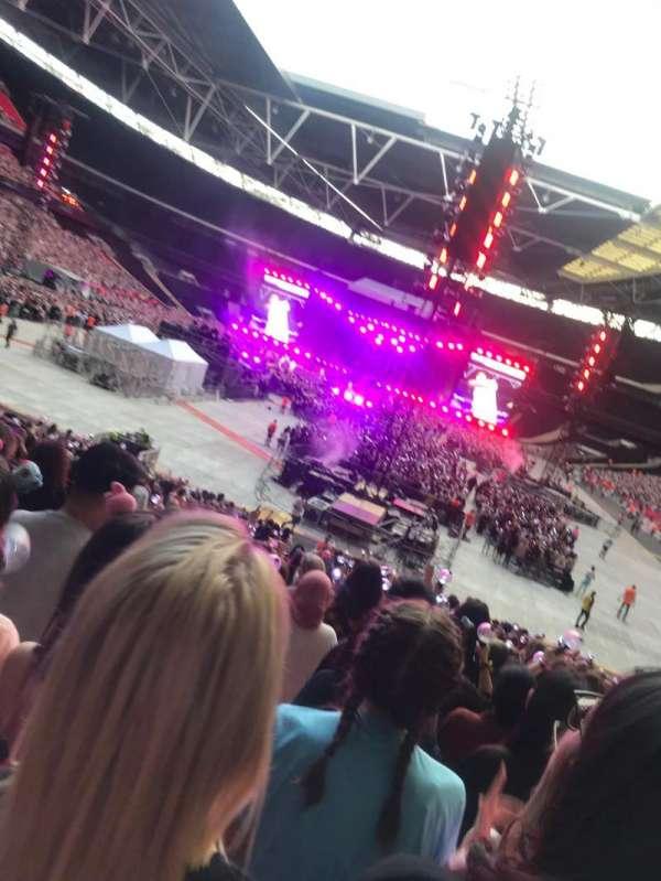 Wembley Stadium, secção: 110, fila: 28, lugar: 2