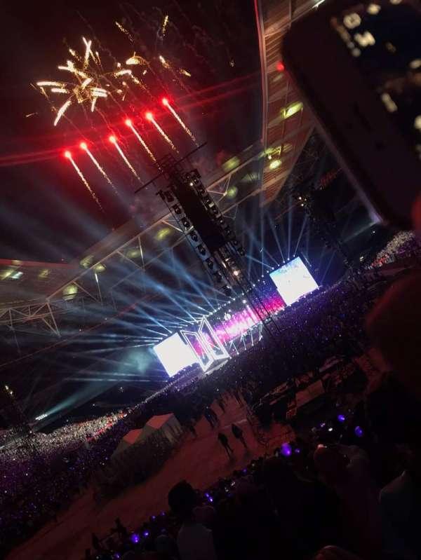 Wembley Stadium, secção: 110, fila: 28, lugar: 222