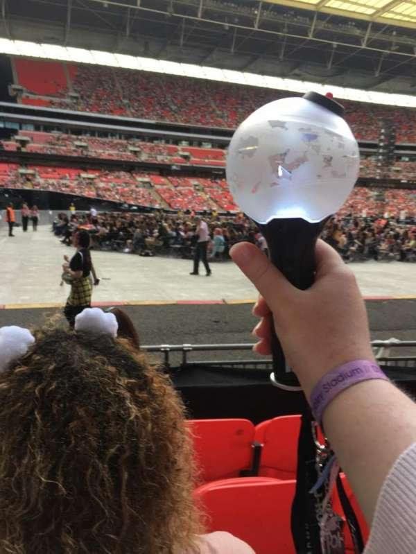 Wembley Stadium, secção: 126, fila: 5, lugar: 95