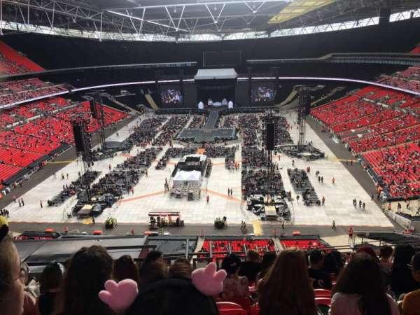 Wembley Stadium, secção: 513, fila: 23, lugar: 378
