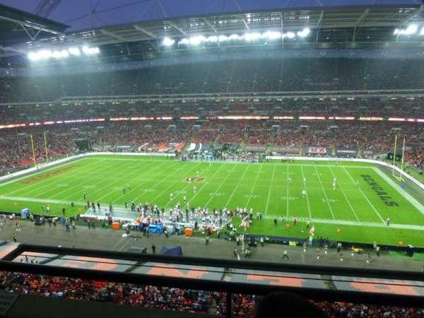 Wembley Stadium, secção: 525, fila: 2, lugar: 337