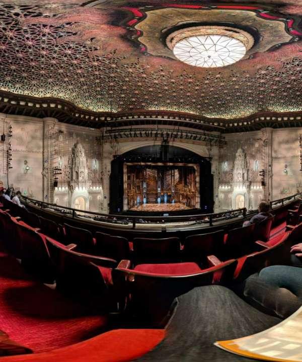 Orpheum Theatre (San Francisco), secção: Loge LC, fila: C, lugar: 107