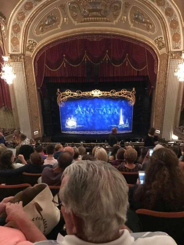 Orpheum Theatre (Memphis), secção: Balcony center, fila: H, lugar: 105