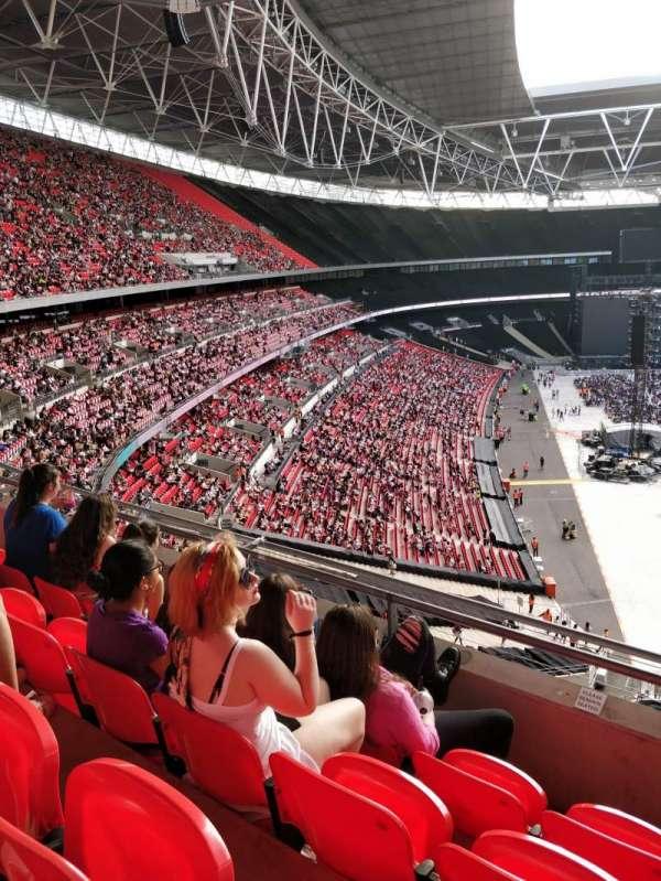 Wembley Stadium, secção: 517, fila: 4, lugar: 112
