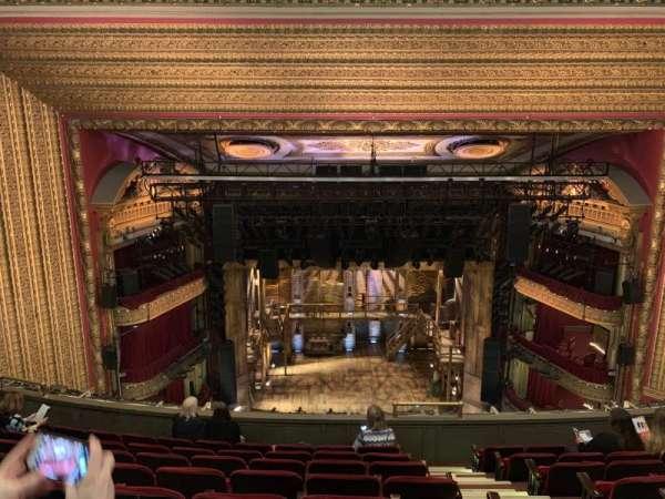 CIBC Theatre, secção: Balcony LC, fila: H, lugar: 401-405