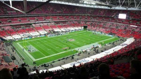 Wembley Stadium, secção: 532, fila: 31, lugar: 163