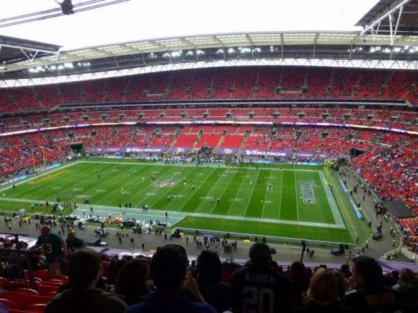 Wembley Stadium, secção: 524, fila: 19, lugar: 309
