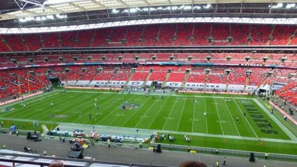 Wembley Stadium, secção: 524, fila: 4, lugar: 330