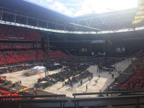 Wembley Stadium , secção: 209, fila: 3, lugar: 180
