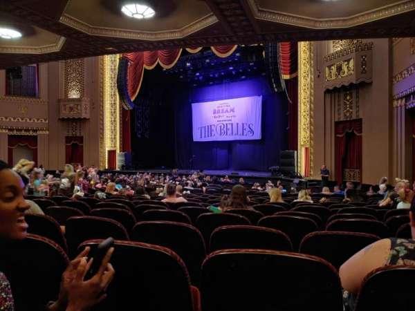 Stifel Theatre, secção: Orch right, fila: Aa, lugar: 12