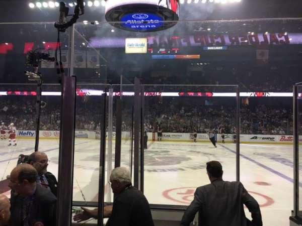Allstate Arena, secção: 102, fila: EE, lugar: 27