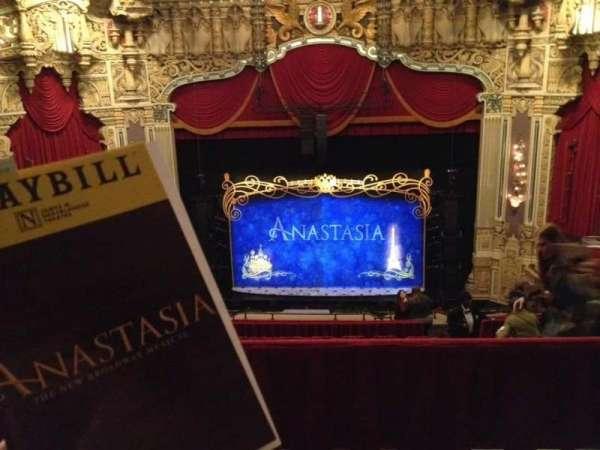 Nederlander Theatre (Chicago), secção: Balcony C, fila: N, lugar: 308