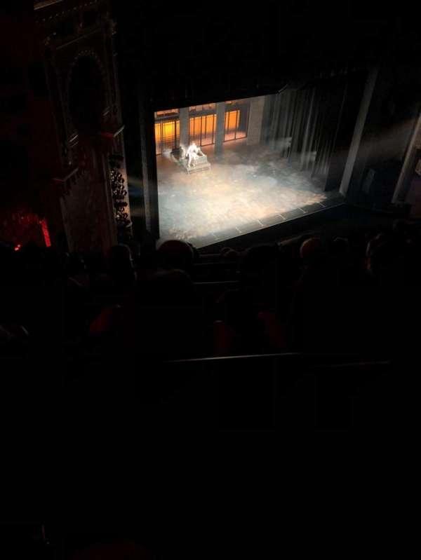 New York City Center, secção: Balcony, fila: G, lugar: 101