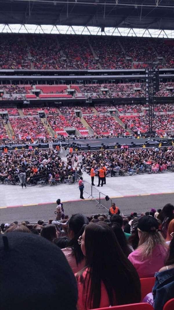 Wembley Stadium, secção: 124, fila: 25, lugar: 52
