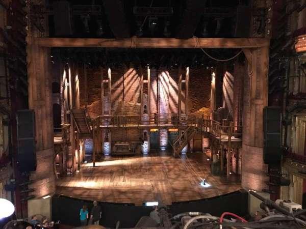 CIBC Theatre, secção: Mezzanine LC, fila: A, lugar: 301