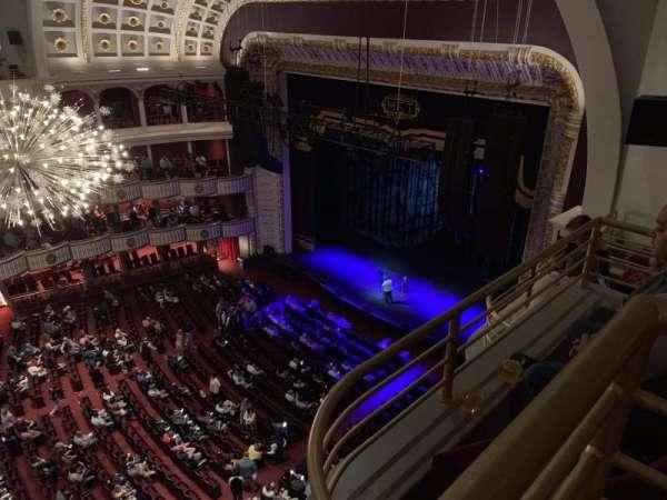 The Met Philadelphia, secção: Mezzanine Box 7, fila: A, lugar: 1