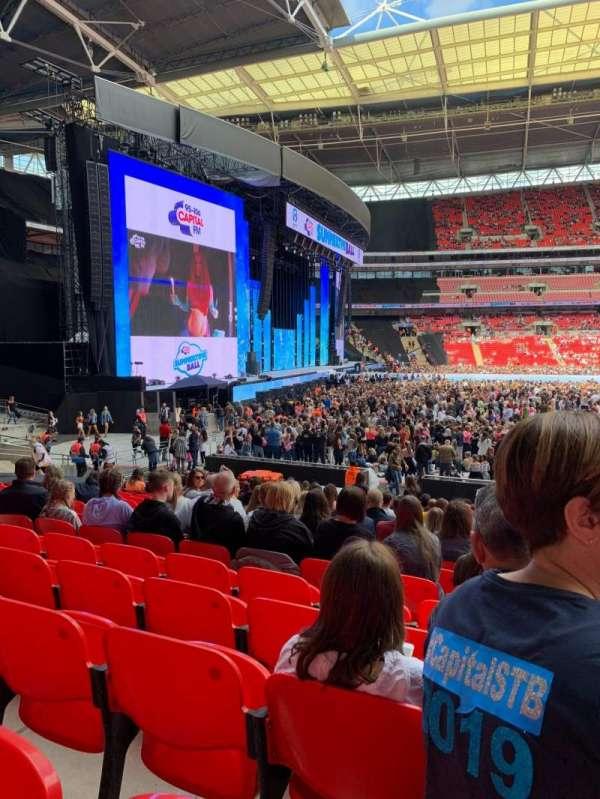 Wembley Stadium, secção: 126, fila: 20, lugar: 88