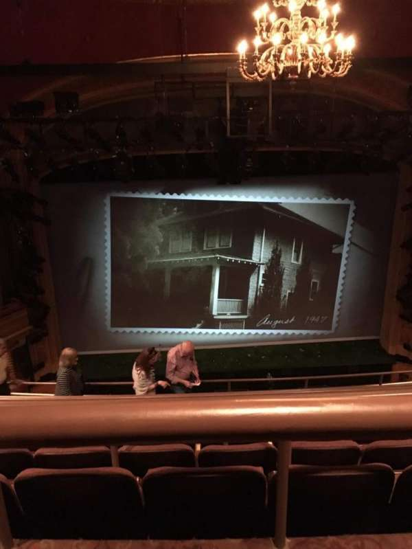 American Airlines Theatre, secção: Rear Mezzanine, fila: G, lugar: 120