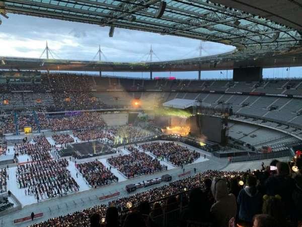 Stade de France, secção: D9, fila: 73, lugar: 22