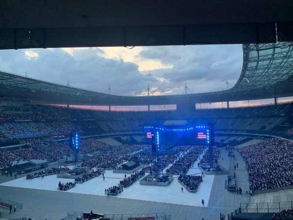 Stade de France, secção: A9, fila: 56, lugar: 07
