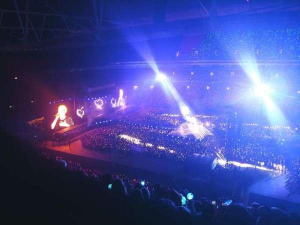 Wembley Stadium, secção: 524, fila: 27, lugar: 326