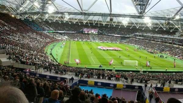 London Stadium, secção: 248, fila: 52, lugar: 70