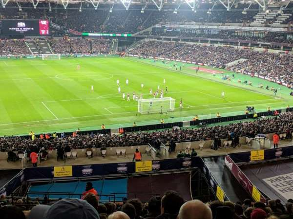 London Stadium, secção: 247, fila: 53, lugar: 79