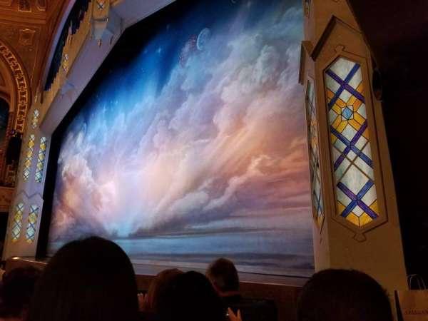 Eugene O'Neill Theatre, secção: Orchestra, fila: D, lugar: 16