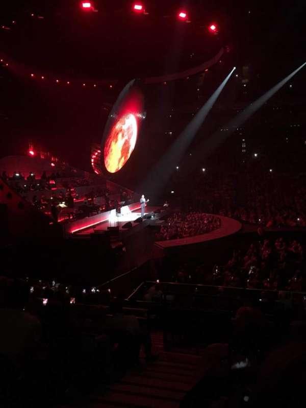 The O2 Arena, secção: 101, fila: P, lugar: 30