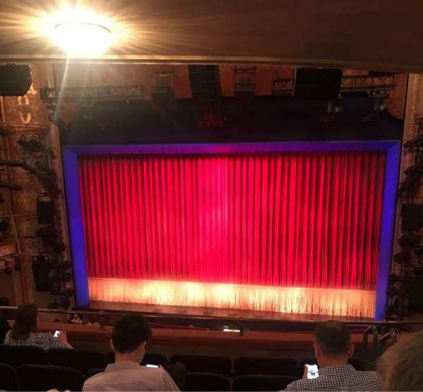 Longacre Theatre, secção: Mezzanine C, fila: F, lugar: 101