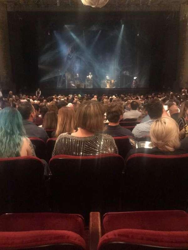 Hollywood Pantages Theatre, secção: OrchC, fila: X, lugar: 108
