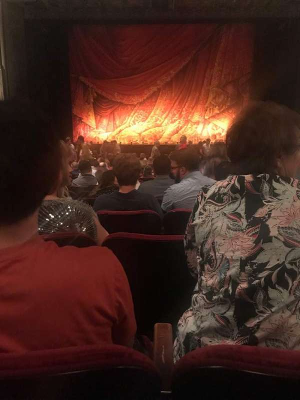 Hollywood Pantages Theatre, secção: ORCHC, fila: X, lugar: 107