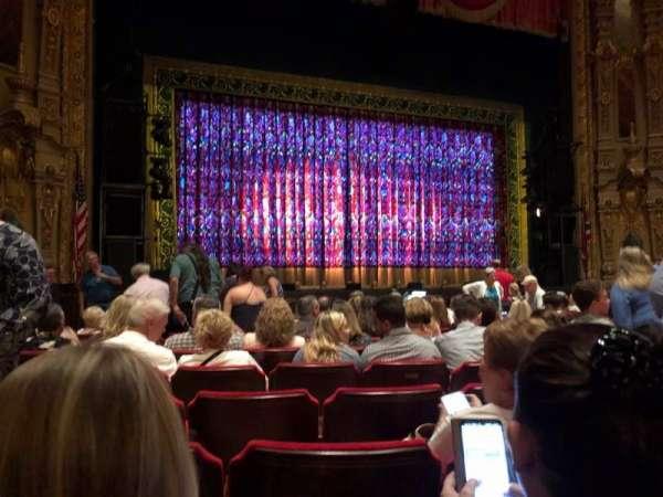 Ohio Theatre (Columbus), secção: Orchestra 3, fila: L, lugar: 123