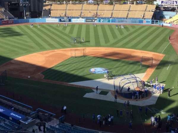 Dodger Stadium, secção: 7RS, fila: M, lugar: 3