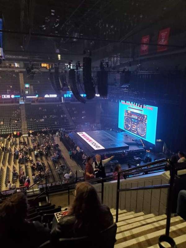 Van Andel Arena, secção: 222, fila: J, lugar: 2
