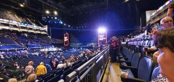 The O2 Arena, secção: 111, fila: H, lugar: 324