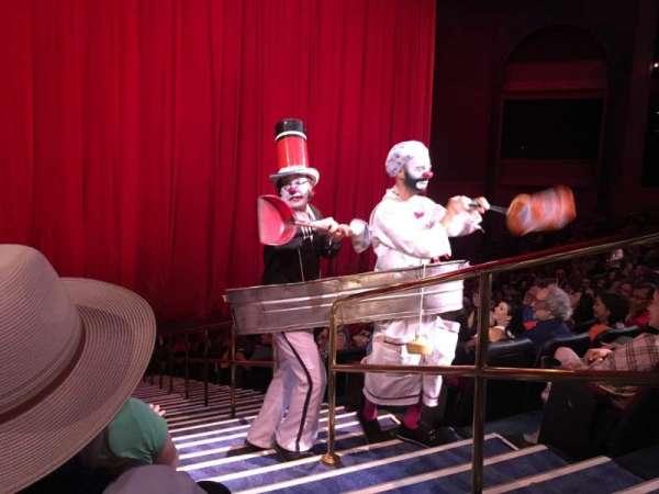 O Theatre, secção: 102, fila: N, lugar: 21
