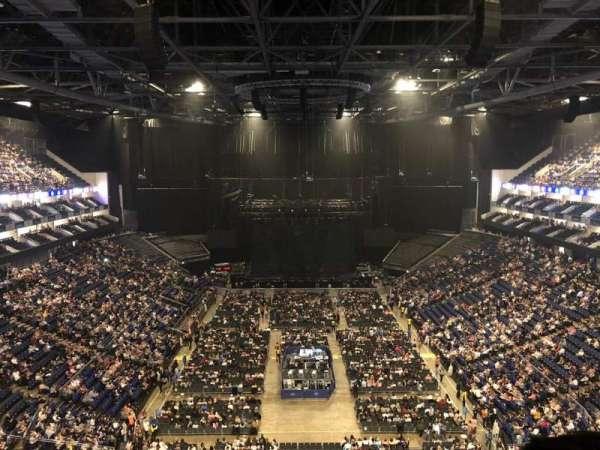 The O2 Arena, secção: 411, fila: F, lugar: 718
