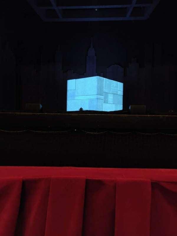 James M. Nederlander Theatre, secção: Orchestra C, fila: A, lugar: 109