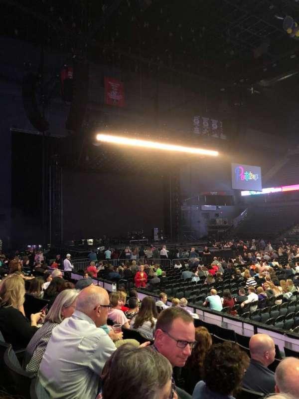 Van Andel Arena, secção: 108, fila: G, lugar: 1