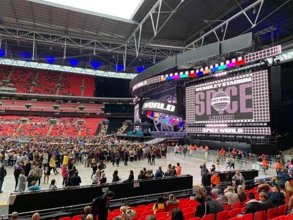 Wembley Stadium, secção: 142, fila: M, lugar: 245