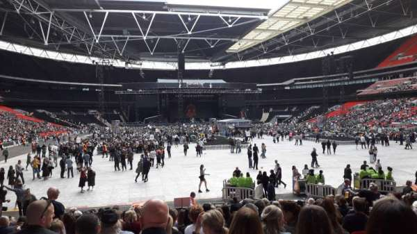 Wembley Stadium, secção: 113, fila: 19, lugar: 52