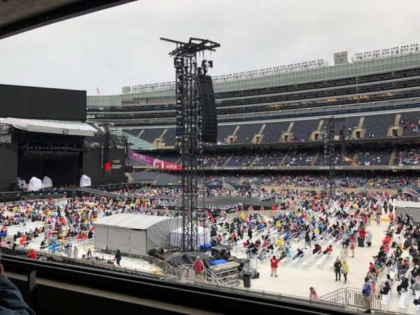 Soldier Field, secção: 234, fila: 2, lugar: 12