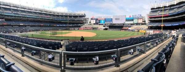 Yankee Stadium, secção: 114b, fila: 2, lugar: 10