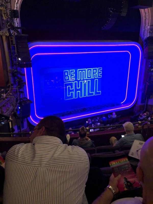 Lyceum Theatre (Broadway), secção: Mezzanine L, fila: E, lugar: 11