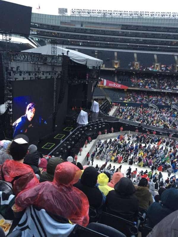 Soldier Field, secção: 342, fila: 9, lugar: 13