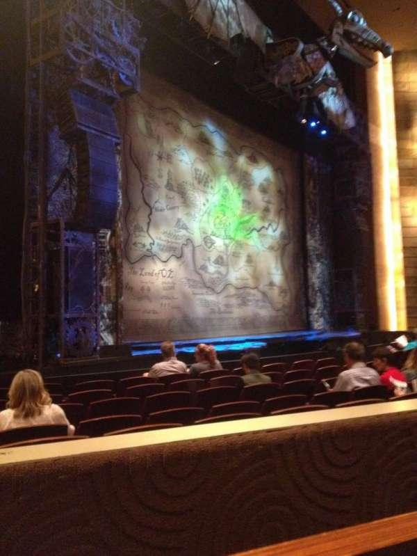 Temple Buell Theatre, secção: E, fila: G, lugar: 5